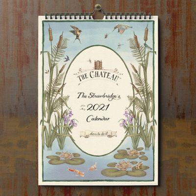 A4 Family Mid-Year Calendar