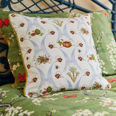 Watering Can Harvest Cushion