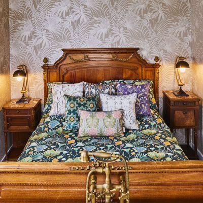 Emerald Fan Bed Set