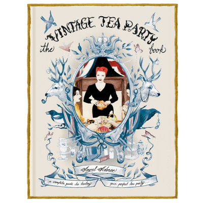 Vintage Tea Party - including signed bookmark!