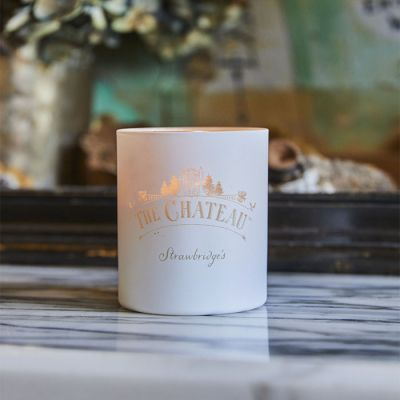 Personalised White Forest Candle
