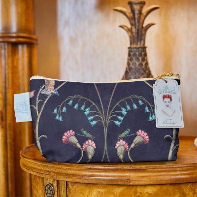 Wild Flower Cosmetic Bag
