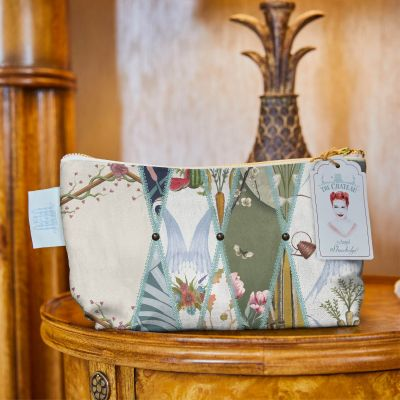Nouveau Wallpaper Cosmetic Bag