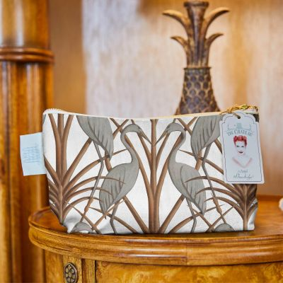 Nouveau Heron Cosmetic Bag