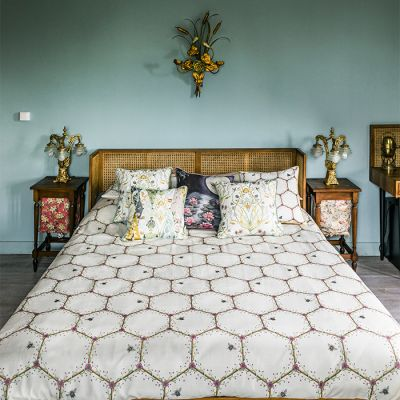 Honeycomb Bed Set - Super King