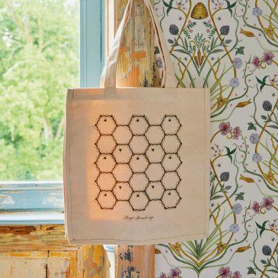 Personalised Honeycomb Tote Bag