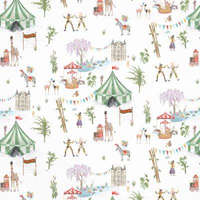 Le Cirque du Chateau Upholstery Fabric