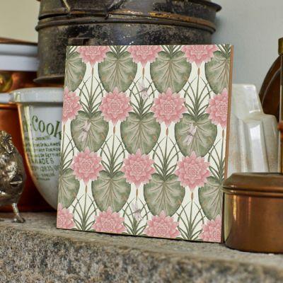Lily Garden Tile
