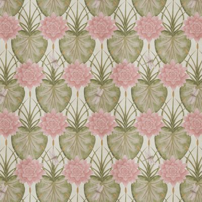 Lily Garden Cream Fabric