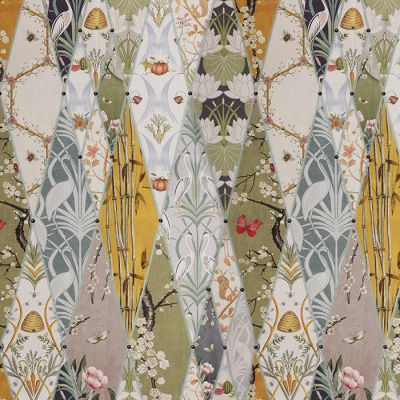 Nouveau Wallpaper - Upholstery Fabric