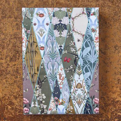 Monogrammed Nouveau Wallpaper 2022 Diary
