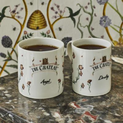 Floral Chateau Mug