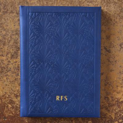 Heron Debossed Notebook