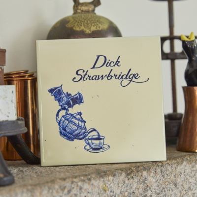 Personalised Teapot Small Tile