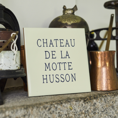 Personalised Chateau Text Tile