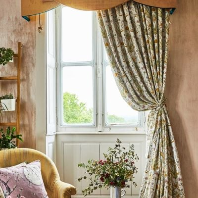 Potagerie Cream Curtains