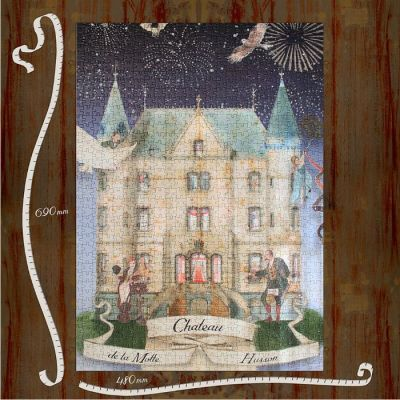 The Chateau in Watercolour Puzzles - Outside