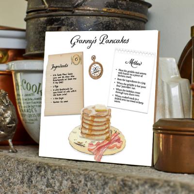 Granny's Pancakes Recipe Tile