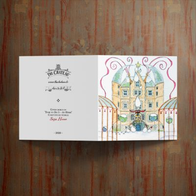 The Chateau Christmas Cards - Pack of 12
