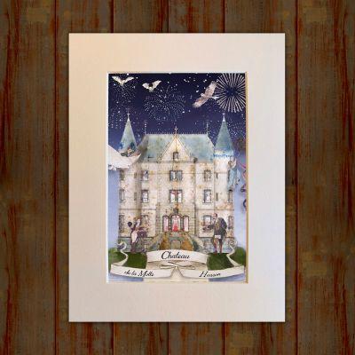 The Chateau - Outside Print