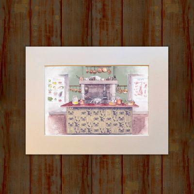 The Kitchen Print