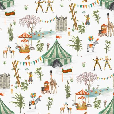 Le Cirque du Chateau Wallpaper