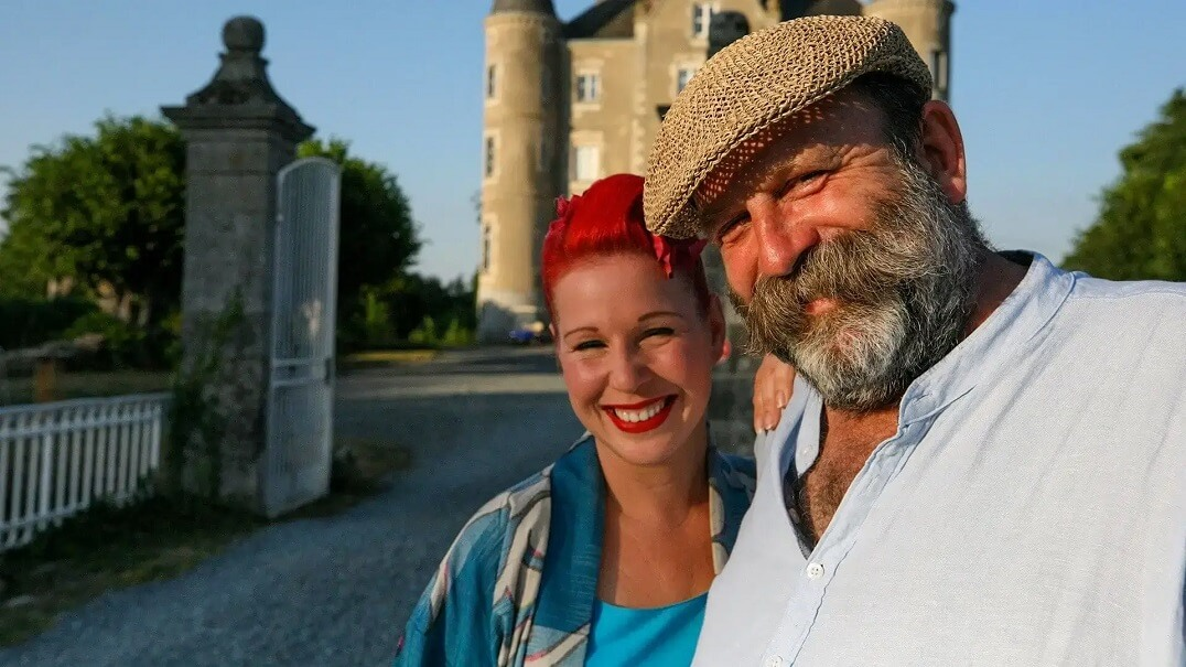 Dick and Angel Strawbridge, Escape to the Chateau