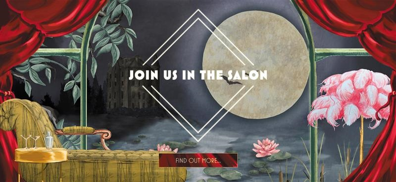 Join us in The Salon banner