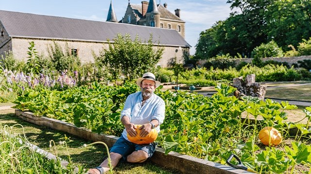 Win a trip to visit Dick and Angel Strawbridge at the Chateau de la motte husson, France