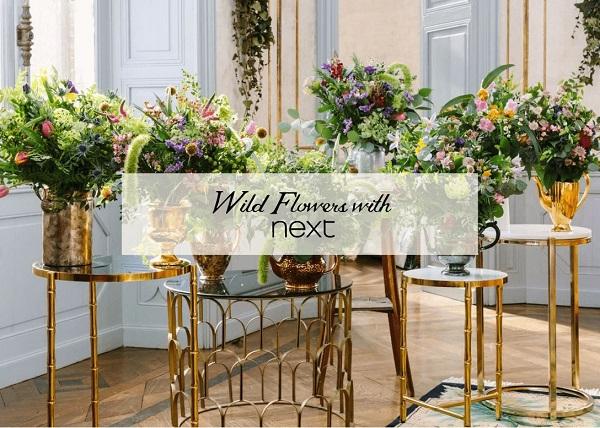 Angel Strawbridge Wildflowers Bouqets with Next