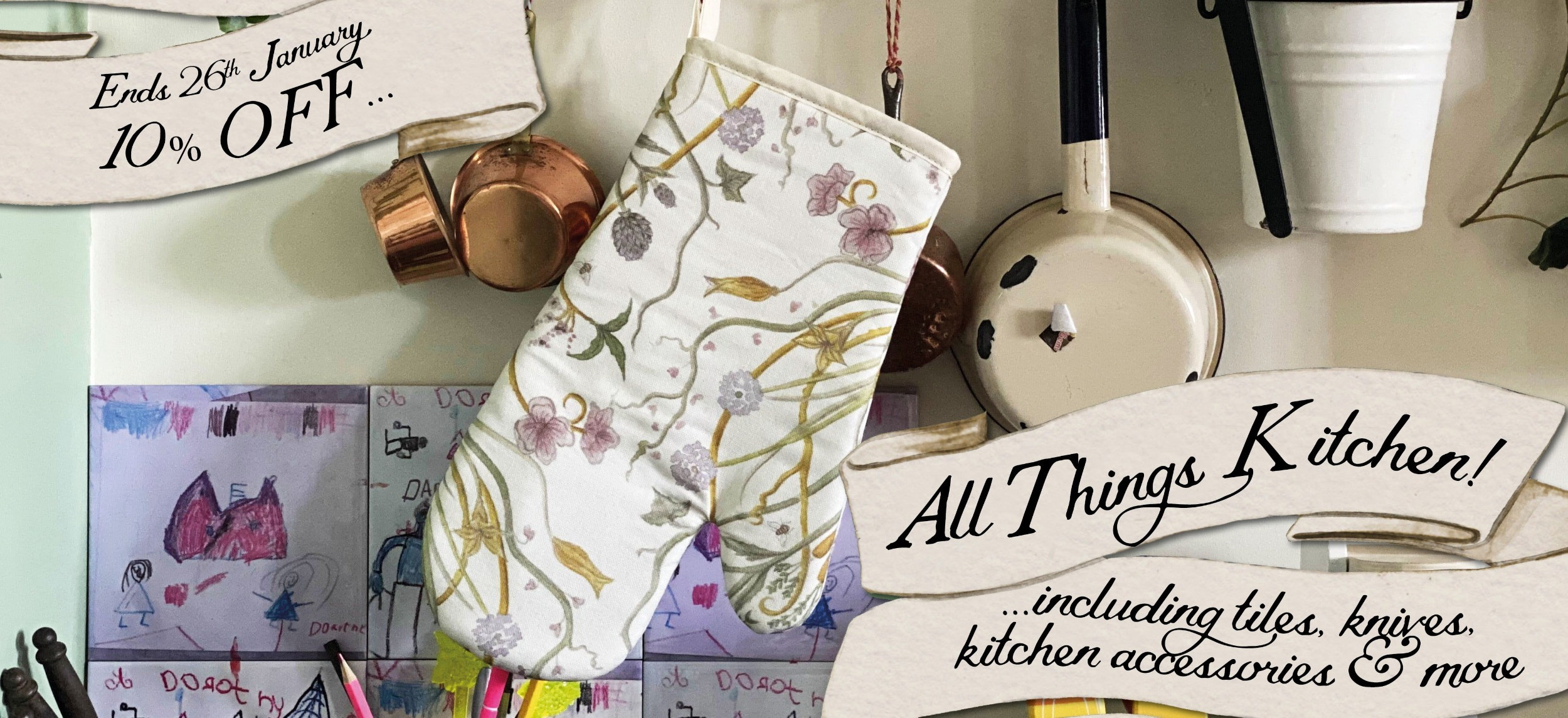 10% off All Things Kitchen!