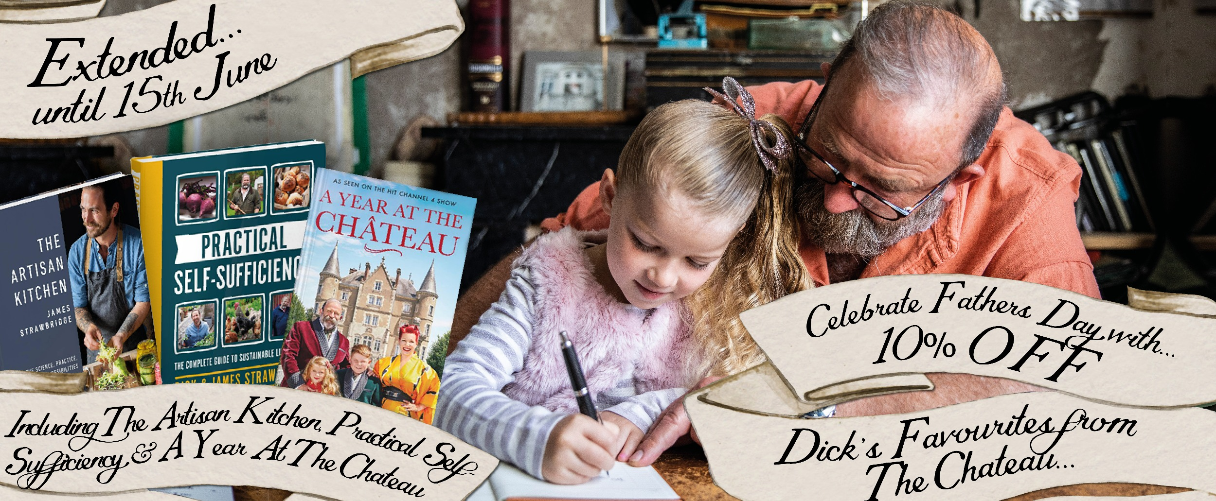 Celebrate Fathers Day with 10% off Dick's favourites and our brand new Truffle Hunter collection & Personalised Chocolate Bars!