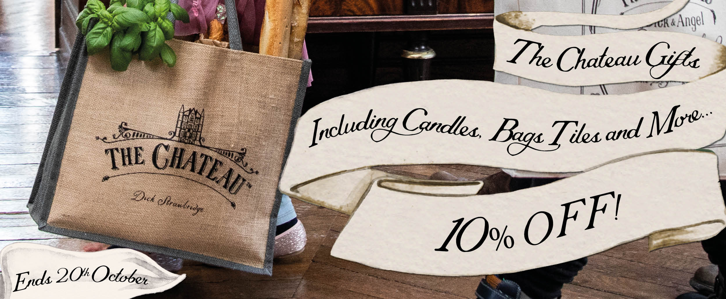 '10% off The Chateau gifts