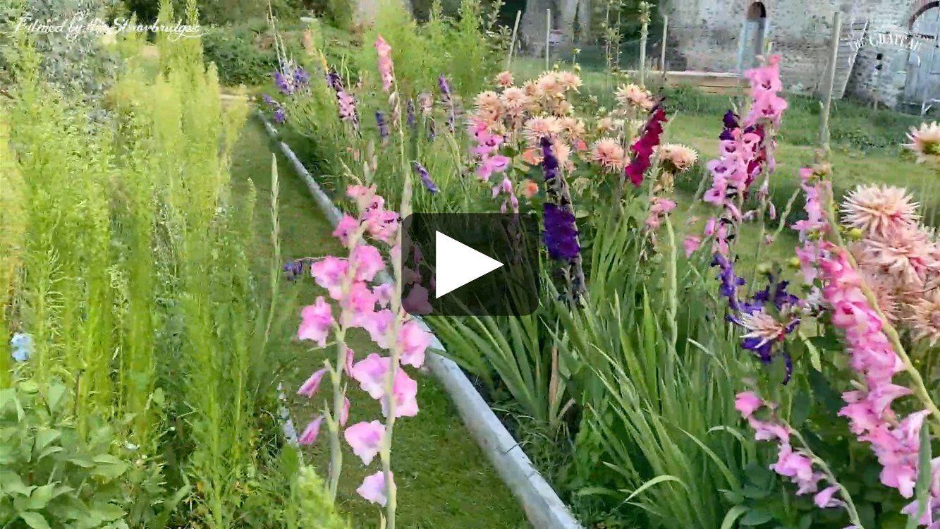 Video frame of The Chateau garden, link to full video