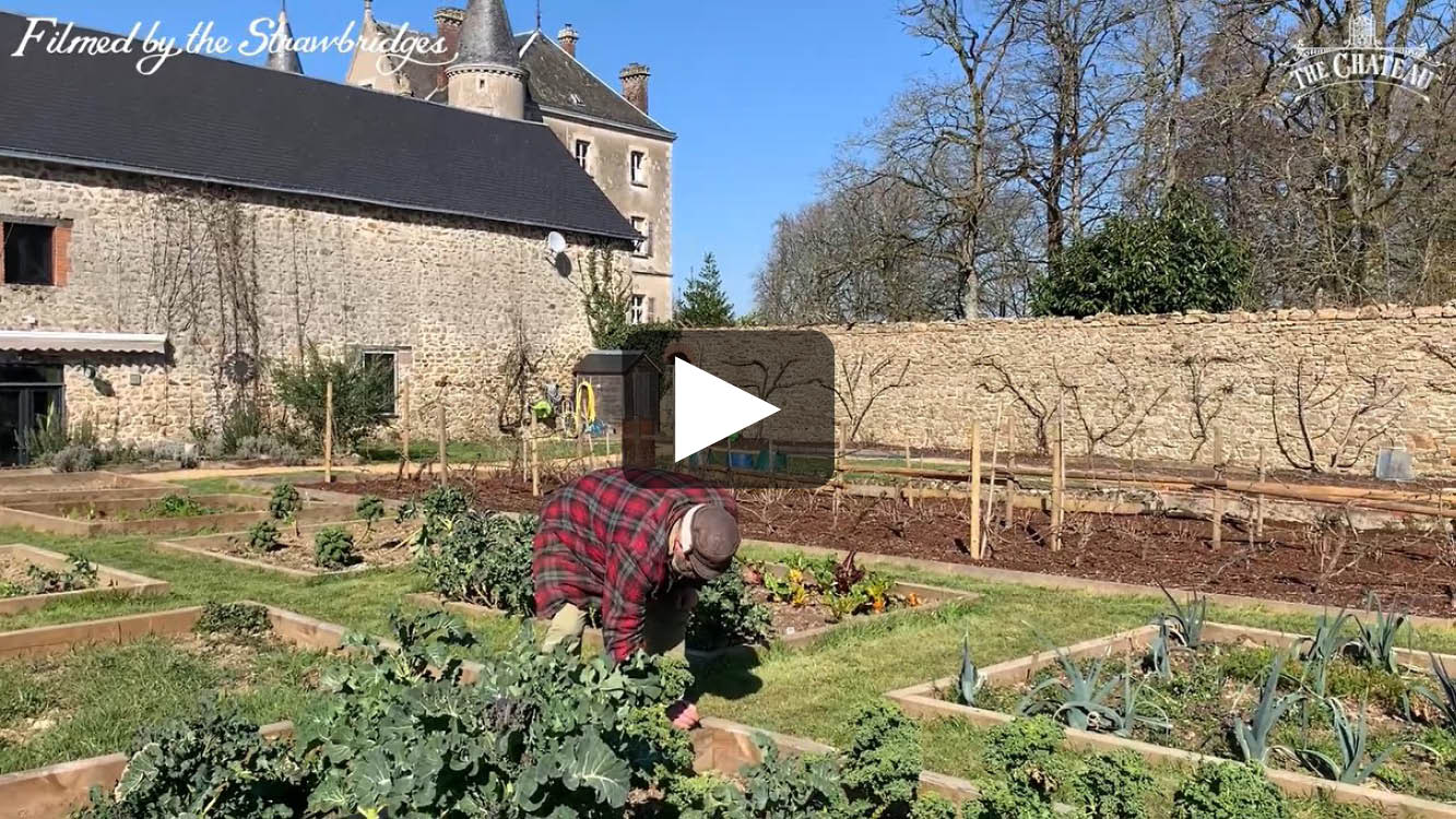 Video frame of Dick in The Walled Garden.